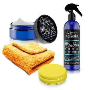 Leather Cleaner Protection Kit Preserve Car Interior Detailing Pure Definition