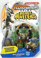 TRANSFORMERS PRIME BEAST HUNTERS BULKHEAD DELUXE MOSC MOC MISB SEALED NEW