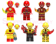 FLASH REVERSE FLASH DC LEGO MOC CUSTOM MINIFIGURE TOYS COLLECTION GIFT