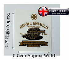 ROYAL ENFIELD CLASSIC MOTORBIKE FUEL PETROL TANK TOP STICKER @UK