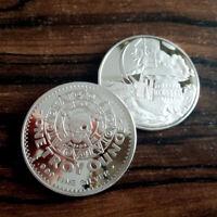 Pirate Treasure design, 1 Troy oz .999 Fine Silver Bullion Round NEW!