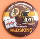 WASHINGTON REDSKINS NFC CHAMPS - 1984 SUPER BOWL - XVII - BADGE PIN