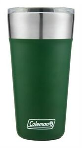 Coleman 2010818 Heritage Green Stainless Steel Insulated Tumbler & Glass 20 oz.