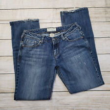 Women's Maurices Kelli Straight Leg Jeans Size 7/8 R Regular Distressed