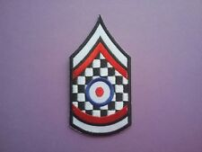 MOD SCOOTER SKA SOUL SEW ON & IRON ON PATCH:- PATCH NAME TO FOLLOW