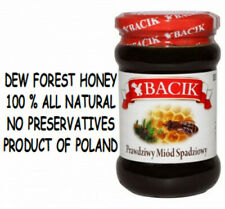 DEW FOREST HONEY 100% ALL NATURAL PRODUCT OF POLAND NO PRESERVATIVES 13.5 oz