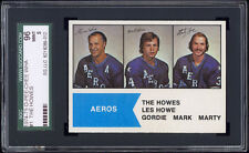 1974-75 O-Pee-Chee WHA #1 The Howes (Gordie Howe) SGC 96 MINT Centered!