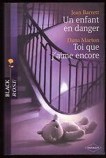 Livre Harlequin..COLLECTION BLACK ROSE..n° 35...2 Romans