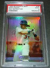 1995 BOWMAN'S BEST REFRACTOR MIKE PIAZZA PSA 9 POP 1/5