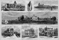 TAMMANY RING PALACES, INGERSOLL, NORWALK, BOSS TWEED
