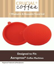 Replacement Aerobie Aeropress Red Silicone Travel Cap