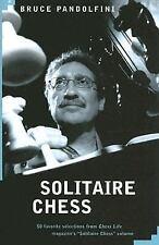 Solitaire Chess, Pandolfini, Bruce, Acceptable Book