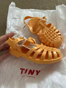 Tiny Cotton Jelly Sandals Pink New Size 23uk Toddler 6uk