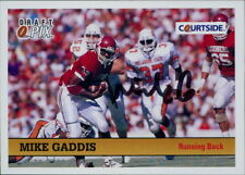 Mike Gaddis Oklahoma Sooners 1992 Courtside Draft Pix Autographed Card #85
