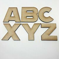 Wooden Letters Large Small 2cm  - 20cm Wall Hanging Letters Craft Scrapbooks