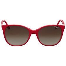 Vogue Brown Gradient Square Sunglasses