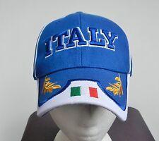 Italy Italia Flag Golden Leaves Soccer Baseball Cap Hat Casquettes
