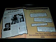 Whitney Houston Waiting To Exhale Rare Original Promo Poster Ad Framed!