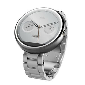 Motorola Moto 360 46mm Smartwatch (1st Generation) Bluetooth, Touchscreen