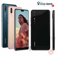 "Huawei P20 128GB 5.8"" Black, Blue, Pink Sim Free 12MP Unlocked NFC Smartphone"