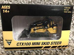 2021 SpecCast 1:50 VERMEER CTX100 MINI SKID STEER Diecast New!!