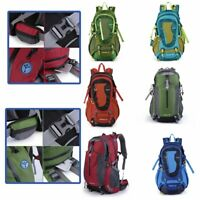 Travel Hiking Backpack Waterproof Outdoor Sport Camping Daypack Bag 40L LY