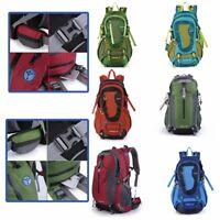 Travel Hiking Backpack Waterproof Outdoor Sport Camping Daypack Bag 40L 2019
