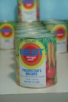 Vintage 1970s Neo-Life NEST Prospector's Biscuits Can Full Unopened Storage Pack
