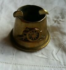 Military brass trench art royal artillery ashtray