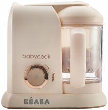 Beaba Babycook 4 in 1 Steam Cooker & Blender, 4.5 Cups, Rose Gold, Dishwasher