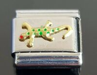 Lizard Italian Charm Bracelet Charms Link