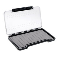 SILICONE INSERTS FLY BOX - Plastic Fly Fishing Tackle Box for Lures Hooks