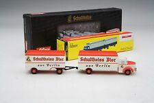 """Schuco / Krupp """"Schultheiss Beer"""" Delivery w/ Twin-Axle Trailer  / # SHU05763"""