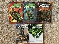 Graphic Novel Lot TPB Green Arrow Graphic Novel Lot DC New 52 Vol 1 2 3 4 5