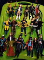 Marvel Legends Lot 15 figures 11 baf pieces