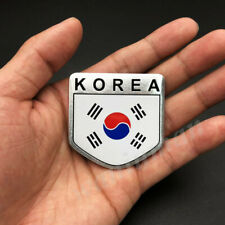 Korea Korean Flag Car Trunk Emblem Badge Motorcycle Fuel Tank Stickers Decal