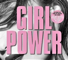 GIRL POWER - 60 HITS FROM THE ORIGINAL GIRLS - VARIOUS ARTISTS (NEW SEALED 3CD)
