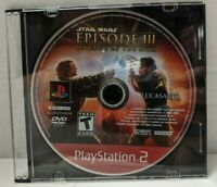 Star Wars Episode 3: Revenge of the Sith PLAYSTATION 2 (PS2) Disc only read desc