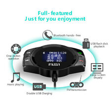 Car Bluetooth MP3 Mobile Phone Charger Wireless Bluetooth Headset 4.2 FM
