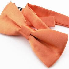 Noeud Papillon pour Enfant Réglable satin Orange - Children Bow Tie Adjustable