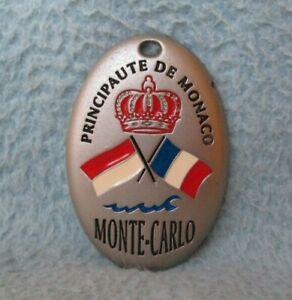 Principaute De Monaco Monte Carlo Metal Magnet Souvenir Refrigerator MB94