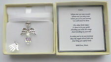 Travel journey driving test Gift Guardian Angel keepsake present moving out home