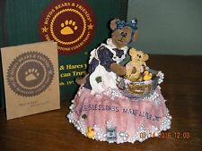 Boyds Bears ~1E MOMMA WITH BABY TAYLOR..RUB-A-DUB-DUB~MUSIC BOX  STYLE #227747SF
