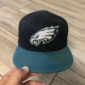 Philadelphia Eagles Black Youth Size Snapback Hat NFL Football NFC