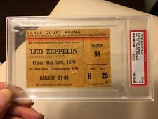 May 25 1975 Led Zeppelin Concert Ticket Earls Court London PSA