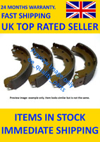 Rear Brake Shoes Set 91082200 TEXTAR for Suzuki