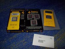 HANDHELD HAND HELD SPIEL ! MICRO VISION  MB Flipper Pinball OVP ! 70 er Jahre