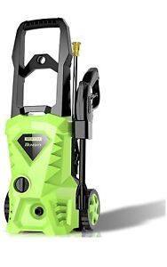 Electric Pressure Washer, Power Washer with 2500 PSI,1.6GPM, (4) Nozzle Adapter
