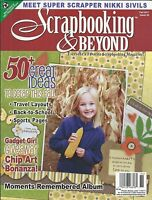Scrapbooking And Beyond Magazine Fall Ideas Travel Layouts Back To School Sports