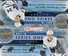 2017 18 2018 Upper Deck Hockey Series One Factory Sealed Retail Box of 24 Packs